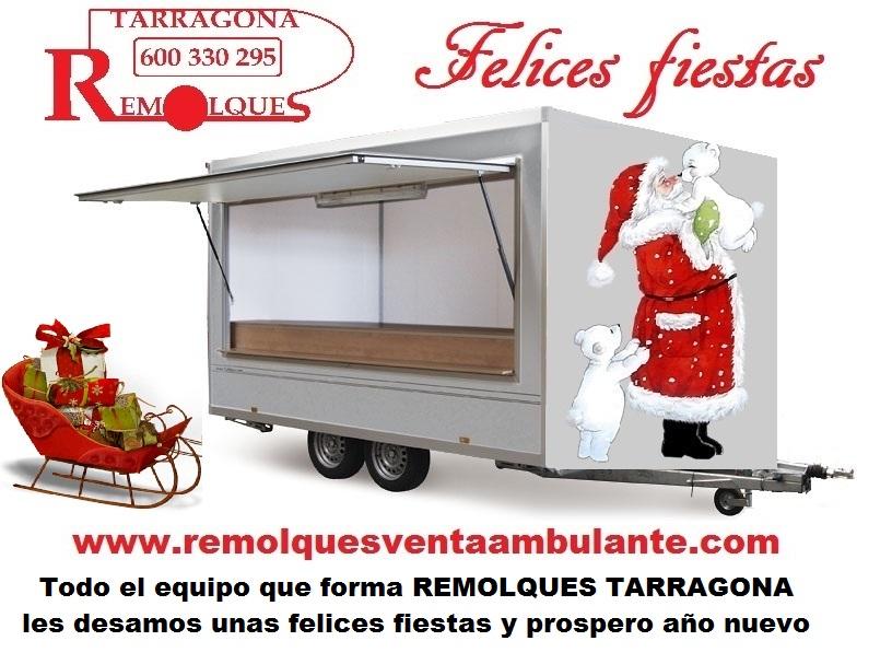 Remolques Tarragona felices fiesas