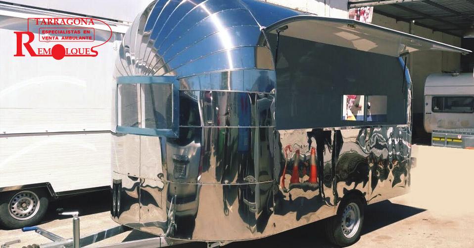 Remolques Tarragona food trucks disponibles en venta vacios
