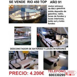 barca-rio-450-top remolques tarragona