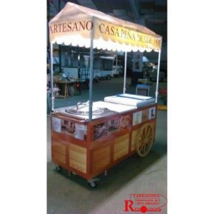carrito horchata remolques tarragona venta ambulante