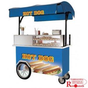 carrito hot dog remolques tarragona venta ambulante