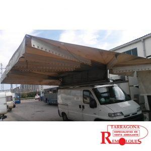 furgon-mercado-toldo remolques tarragona