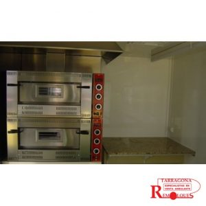 hornos pizza remolques tarragona