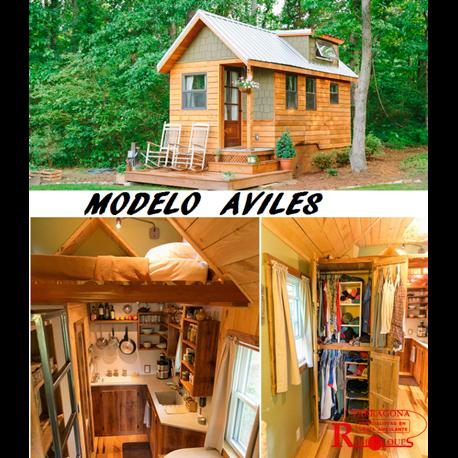Modelos de mini casas for Modelos de mini departamentos