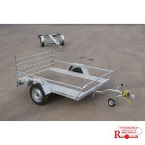 Remolque plataforma para quads y motos tipo custom (MO-5) remolques tarragona