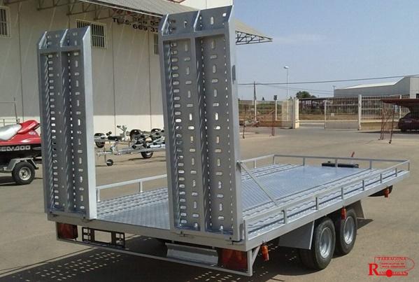 plataforma porta vehiculos carnavales remolques tarragona