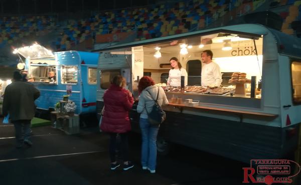 foodtrucks calçot fest a la TAP de Tarragona