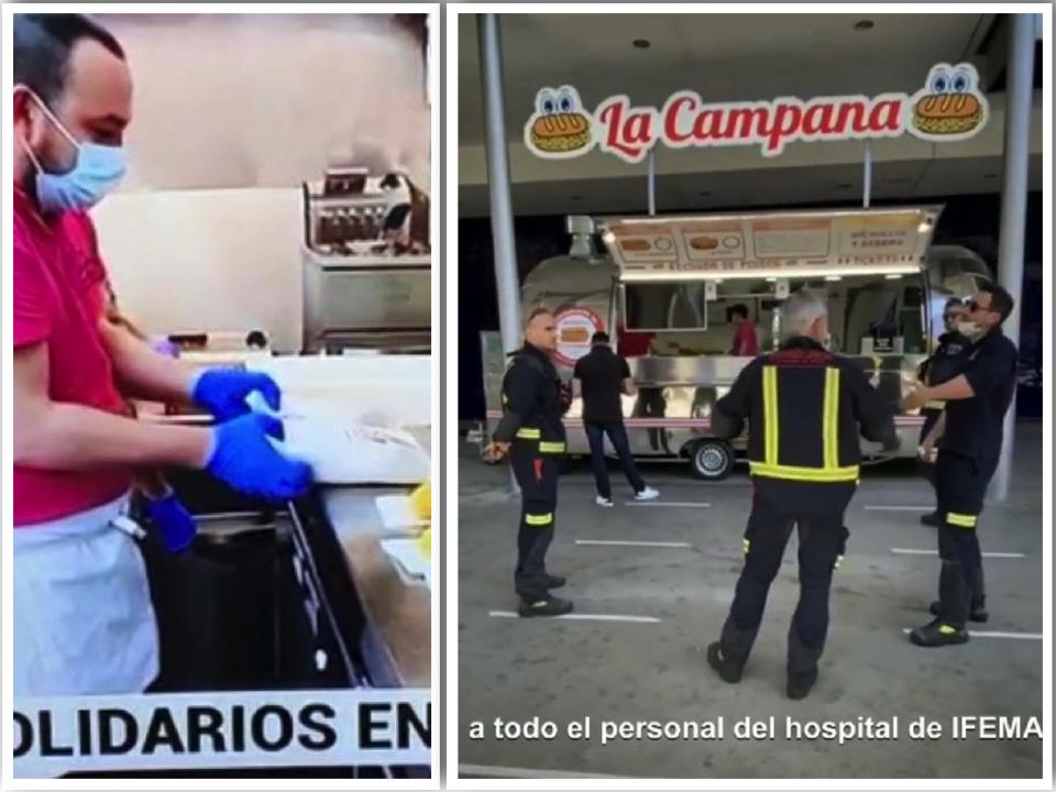 foodtruck la campana en el Ifema de Madrid